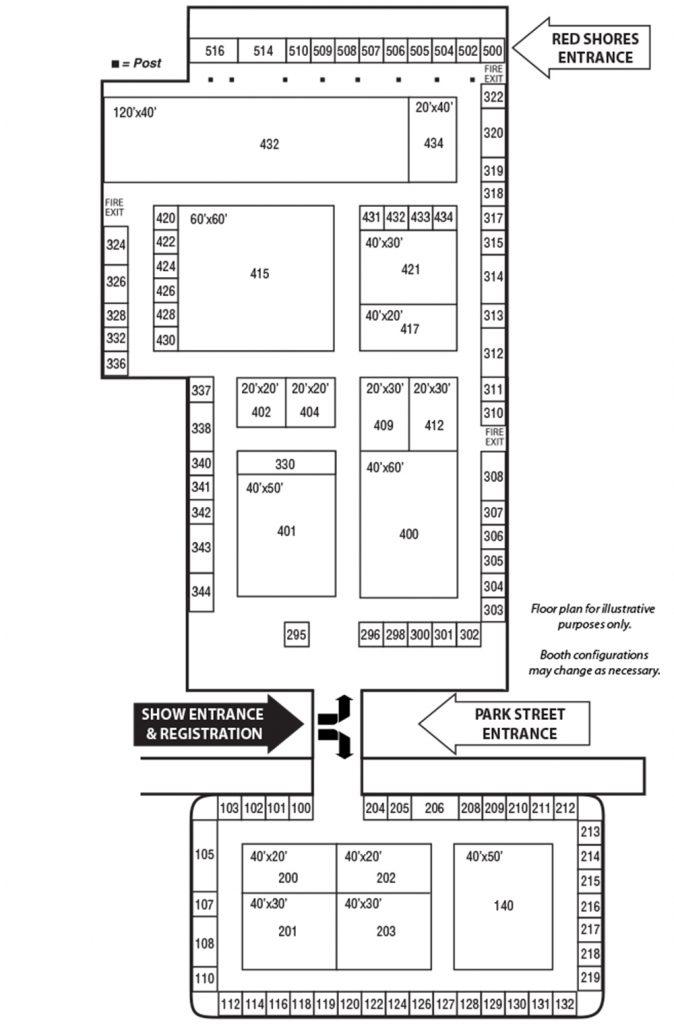 IPTE floor plan 2020